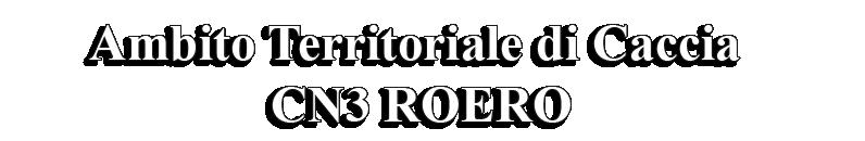 Ambito Territoriale di Caccia CN 3 ROERO
